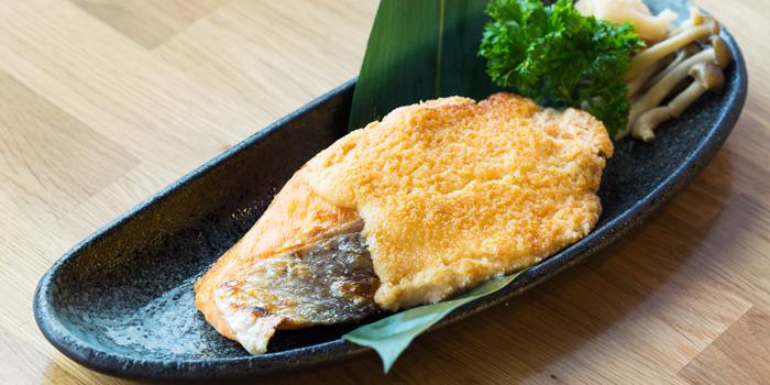 Salmon Mentai from MAGURO Sushi - Chaeng Wattana in Chang Wattana Road, Bangkok