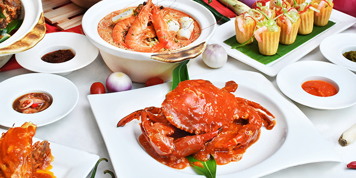Asian Favourites from Saltwater Cafe in Changi Village Hotel in Changi, Singapore