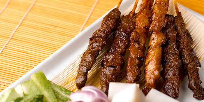 Satay from Saltwater Cafe in Changi Village Hotel in Changi, Singapore