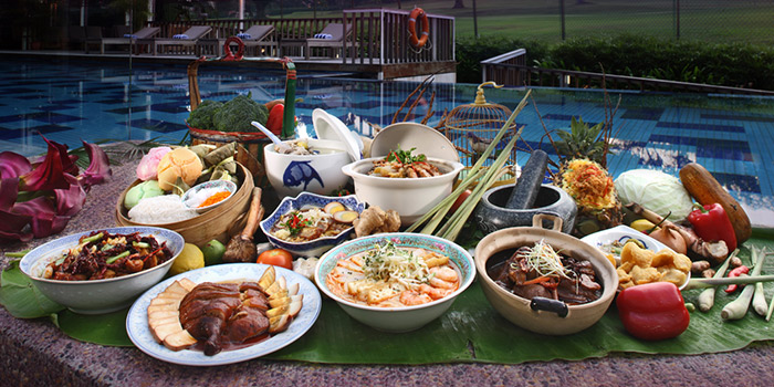 Sunset Buffet from Saltwater Cafe in Changi Village Hotel in Changi, Singapore