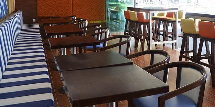 Dining Area of SandBank at East Coast Park in East Coast, Singapore