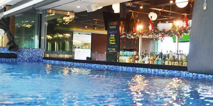 Pool at SandBank at East Coast Park in East Coast, Singapore