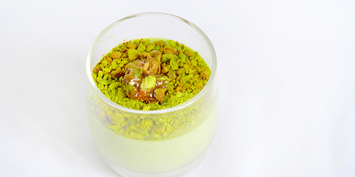 Pistachio Panna Cotta from Saveur (Purvis) in Bugis, Singapore