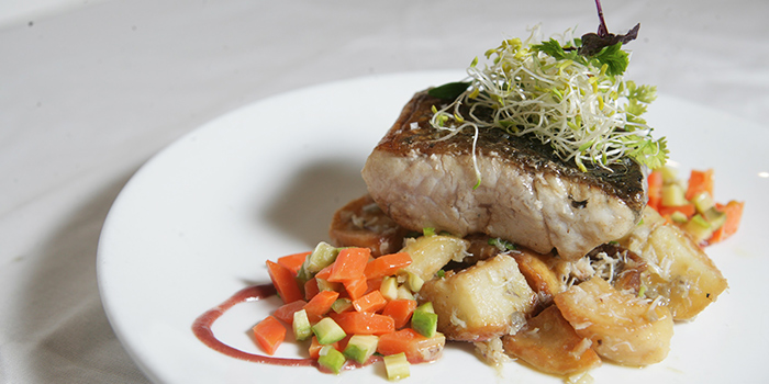 Seabass from Saveur (Purvis) in Bugis, Singapore