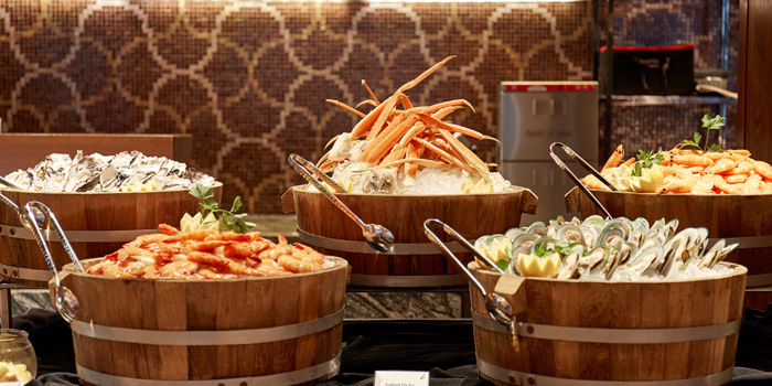 Seafood On Ice from Brasserie Europa at Siam Kempinski Hotel, Bangkok