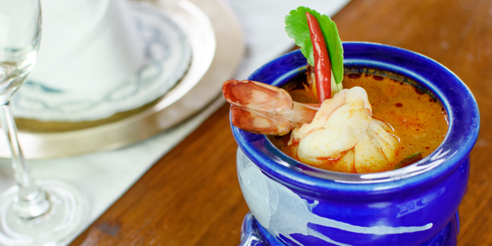 Tom Yum Kung from Blue Elephant Phuket, Talad Neua, Muang, Phuket, Thailand