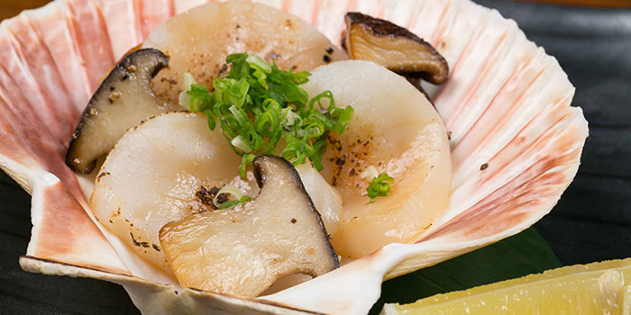 Grilled Scallop from Tsukiji Fish Market Restaurant at Orchard Central in Orchard, Singapore