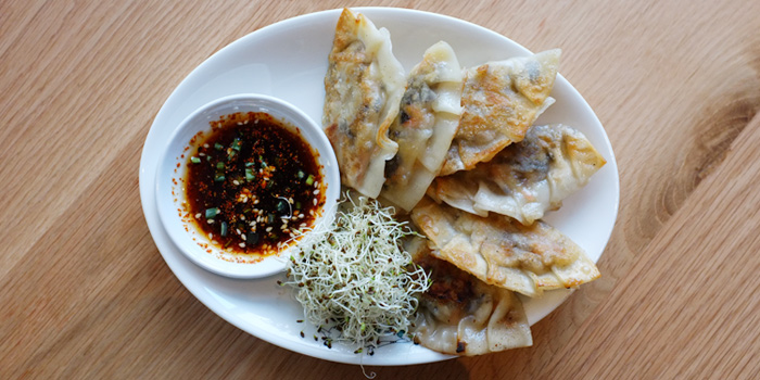 Veggie Gyoza from Broccoli Revolution @Central Embassy at Central Embassy, Bangkok