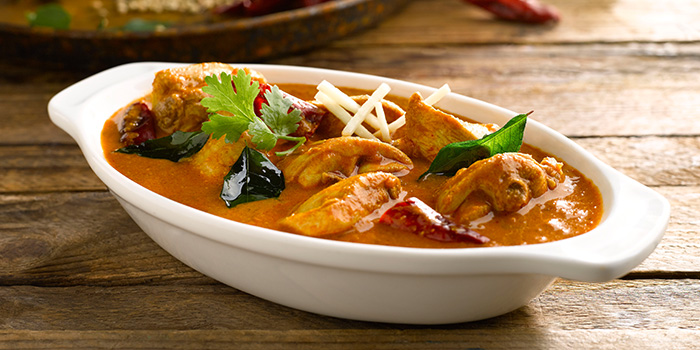 Chettinad Chicken Curry from Pavilion Banana Leaf at Jurong Point Shopping Mall in Jurong, Singapore