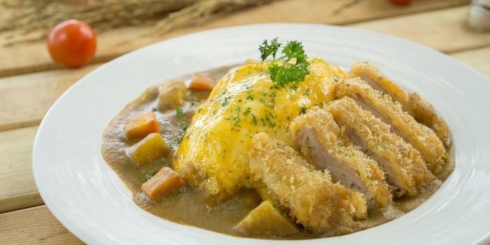 Chicken Katsu Curry at Sunny Side Up Puri