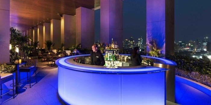 Bar Area at K22 (Fairmont Hotel)