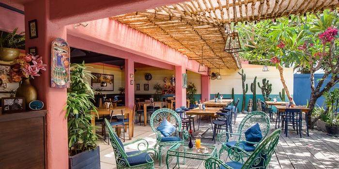 Outdoor Area of LacaLaca Cantina Mexicana in Seminyak, Bali