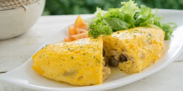 Mushroom Omelette at Sunny Side Up Bekasi
