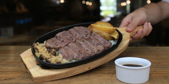 Wagyu Steak at Sunny Side Up Serpong