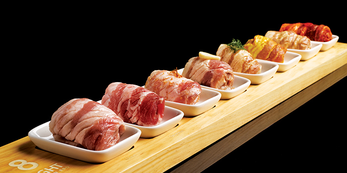 8 Colour Pork from 8 Korean BBQ (The Central) in Clarke Quay, Singapore