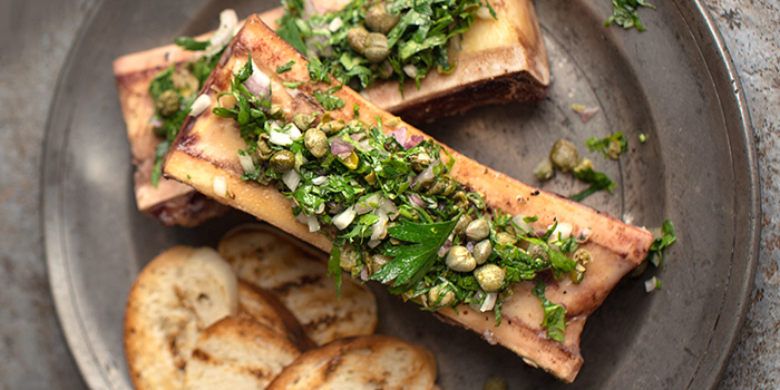 Bone Marrow from Bedrock Bar & Grill in Pan Pacific Serviced Suites Orchard in Orchard, Singapore