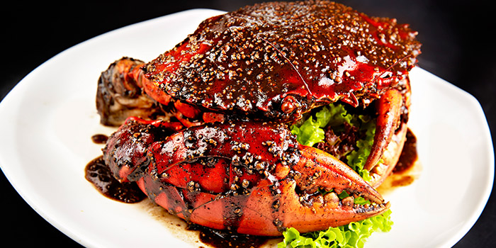 Black Pepper Crab from House of Seafood (Upper Serangoon) in Serangoon, Singapore