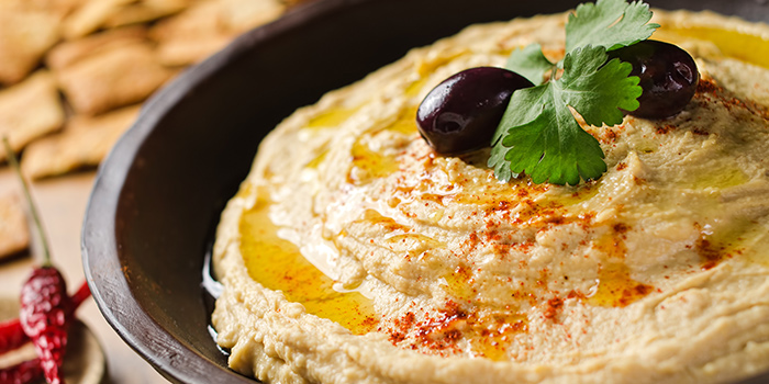 Hummus from Byblos Grill in Bugis, Singapore