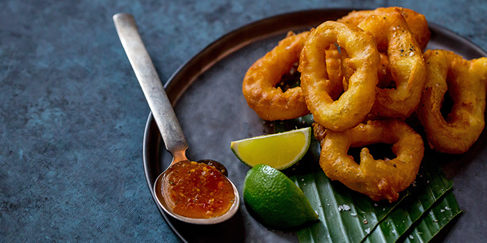 Spicy Fried Calamari from CIN CIN in Oasia Hotel Downtown in Tanjong Pagar, Singapore
