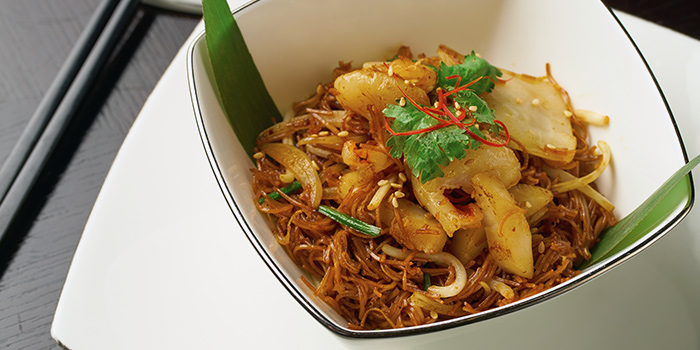 Wok Fried Min Sin from Cassia at Capella Hotel on Sentosa Island, Singapore