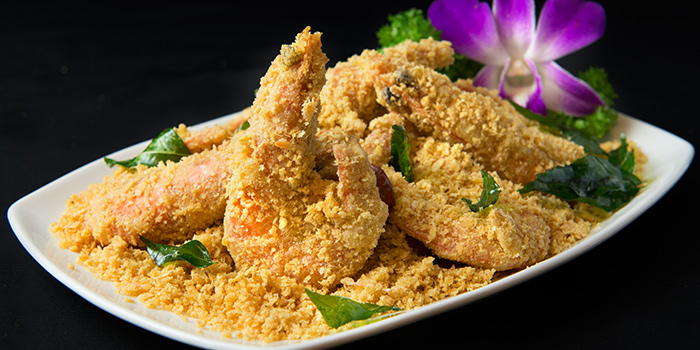 Cereal Prawns from House of Seafood (Upper Serangoon) in Serangoon, Singapore