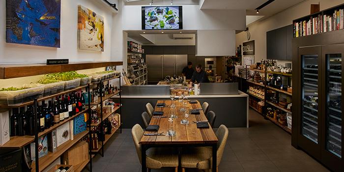 Interior of Chef