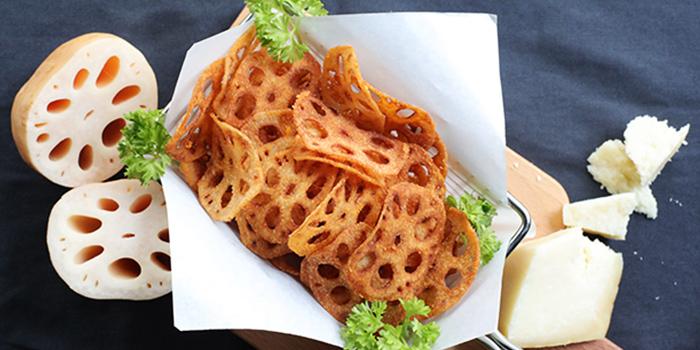 Lotus Root Fries from Chicken Up (Buangkok) in Sengkang, Singapore