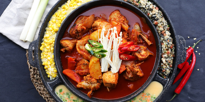 Spicy Chicken Stew from Chicken Up (Buangkok) in Sengkang, Singapore
