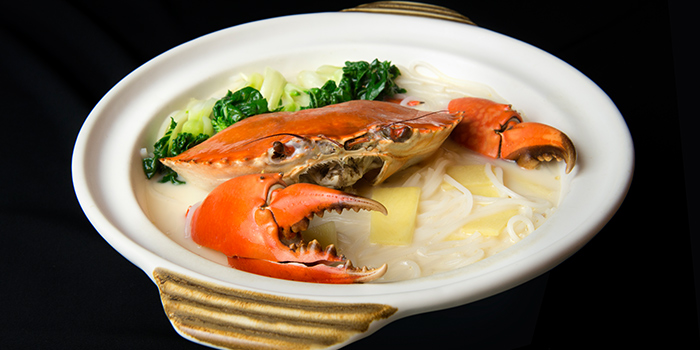 Crab Bee Hoon Soup from House of Seafood (Upper Serangoon) in Serangoon, Singapore