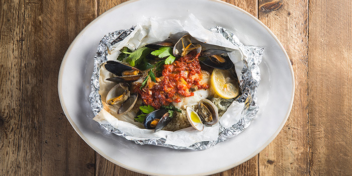 Oven-Baked Fish, Jamie's Italian, Tsim Sha Tsui, Hong Kong