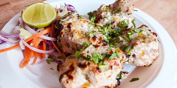 Chicken Malai Tikka from Indline Restaurant in Chinatown, Singapore
