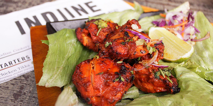 Chicken Tikka from Indline Restaurant in Chinatown, Singapore
