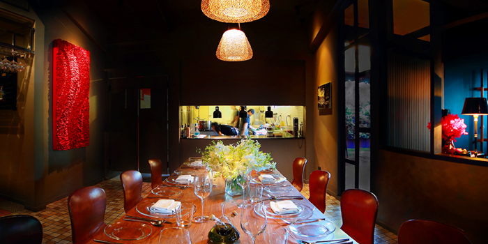 Dining Area from Sensi Restaurant in Narathiwat Soi 17, Bangkok