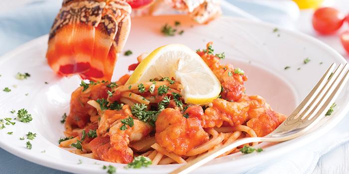 Lobster Pasta, La Creperie, Wan Chai, Hong Kong