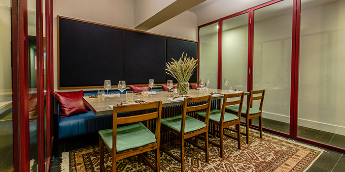 Private Dining Room of Nouri in Tanjong Pagar, Singapore
