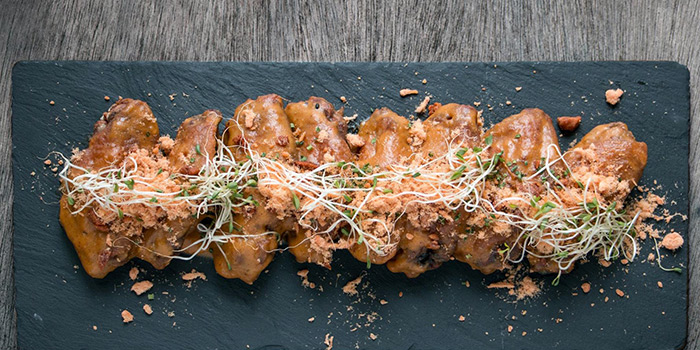 Salted Egg Wings from Nutmeg & Clove on Club Street at Tanjong Pagar, Singapore