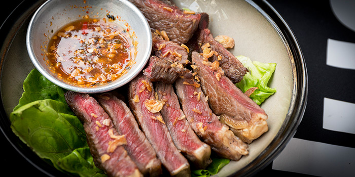 Spicy Beef Ribeye from Nutmeg & Clove on Club Street at Tanjong Pagar, Singapore