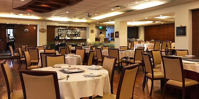 Interior of PeraMakan (Keppel Club) in Harbourfront, Singapore