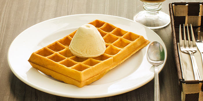 Classic Buttermilk Waffle from The Grumpy Bear at Thomson Plaza in Thomson, Singapore