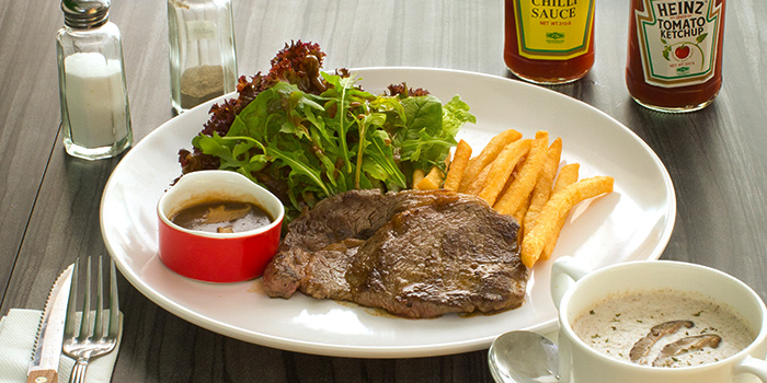 Grass-fed Ribeye Steak from The Grumpy Bear at Thomson Plaza in Thomson, Singapore