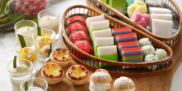 Asian Kuehs from Straits Cafe at Rendezvous Hotel in Dhoby Ghaut, Singapore