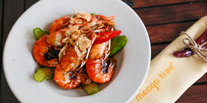 Stir Fried Shrimp With Tamarind Sauce from Mango Tree Surawong in Surawong Road, Bangkok