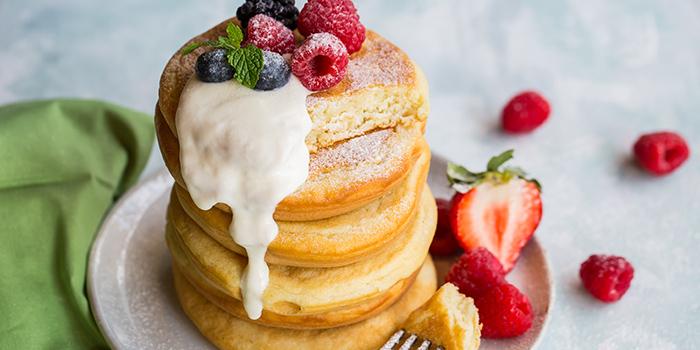 Pancakes from The Marmalade Pantry (Novena) at Oasia Hotel Novena in Novena, Singapore