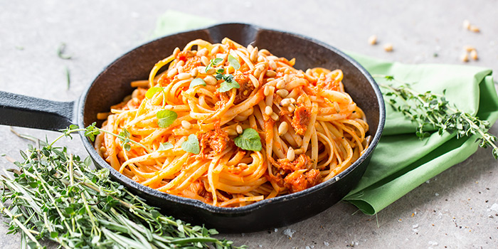 Spicy Crabmeat Pasta from The Marmalade Pantry (Downtown) in Oasia Hotel Downtown in Tanjong Pagar, Singapore