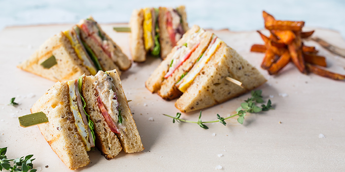 Club Sandwich from The Marmalade Pantry (Downtown) in Oasia Hotel Downtown in Tanjong Pagar, Singapore