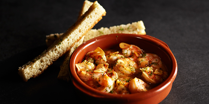 Gambas Alajillo from Tapas Club at Orchard Central in Orchard, Singapore