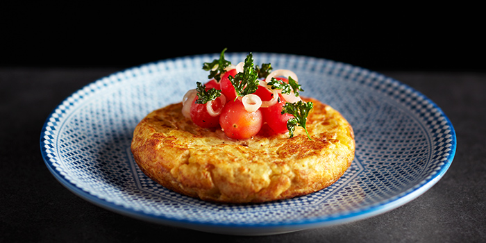 Tortilla de Patatas from Tapas Club at Orchard Central in Orchard, Singapore