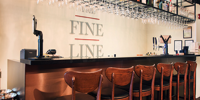 Bar Seats of The Fine Line in Holland Village, Singapore