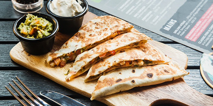 Chicken Quesadilla from The Fine Line in Holland Village, Singapore