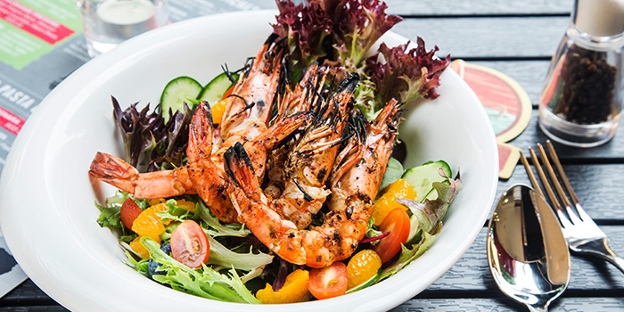 Grilled Prawns from The Fine Line in Holland Village, Singapore